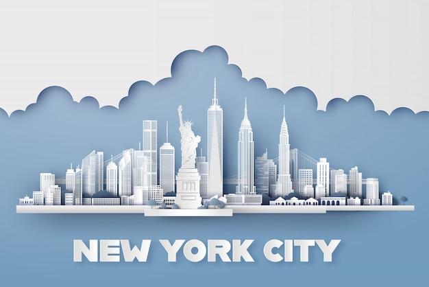 New york city Premium Vektoren