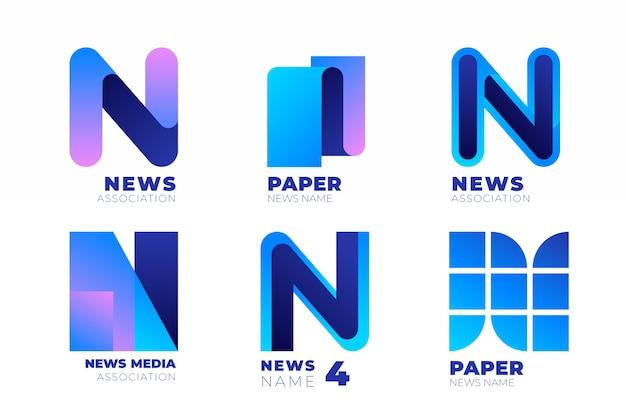 News-logo-sammlung Kostenlosen Vektoren