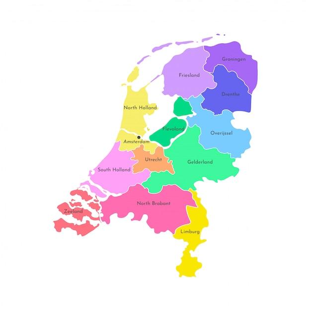 Niederlande Premium Vektoren