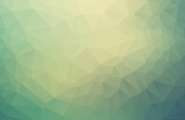 Niedriger polygonaler abstrakter hintergrund des dreieckmosaiks. Premium Vektoren