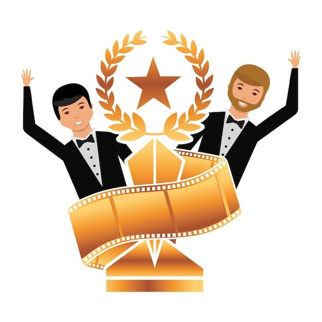 Nominierung Premium Vektoren