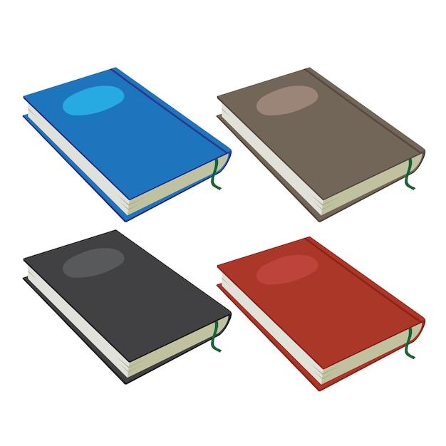 Notebook-vektor-sammlung design Premium Vektoren