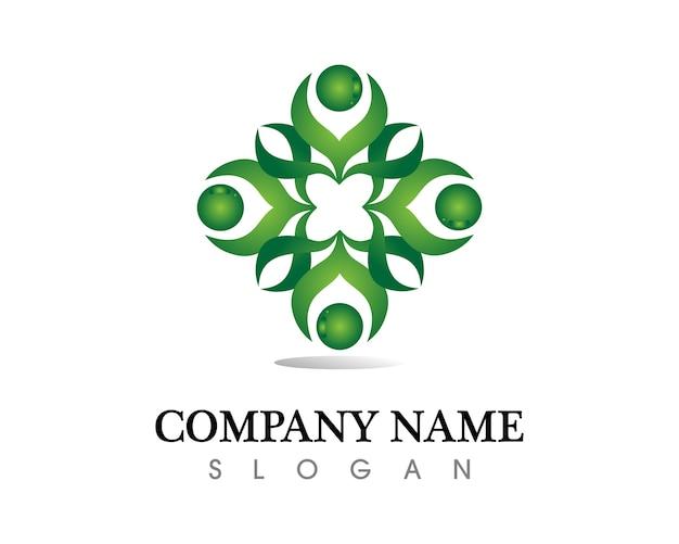 Öko-logo Premium Vektoren