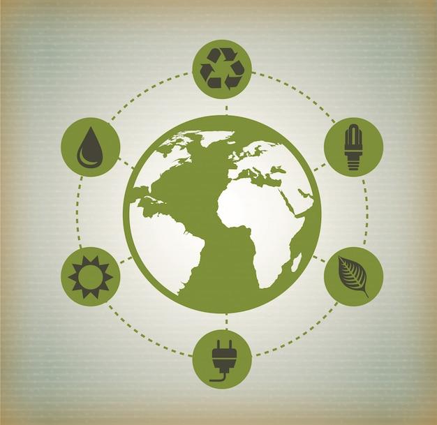 Ökologie Kostenlosen Vektoren