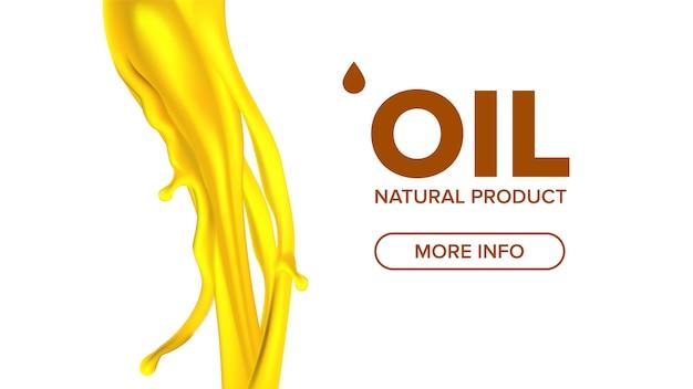 Ölspritzer Premium Vektoren