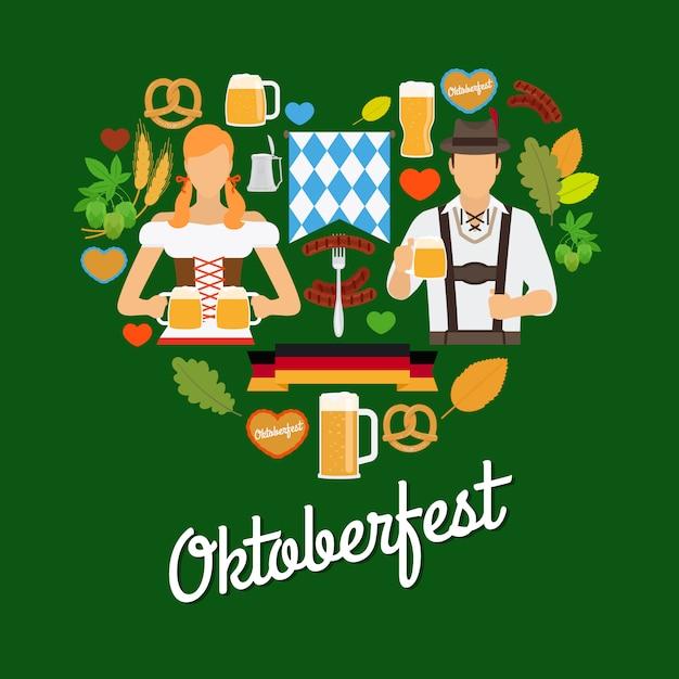 Oktoberfest Premium Vektoren