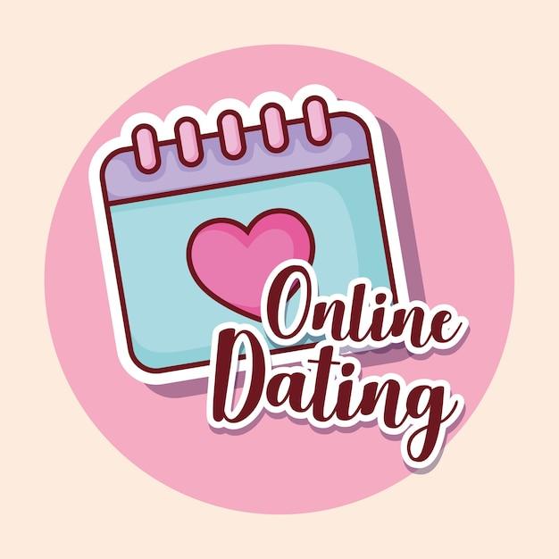 Online-Dating-Geschäftsleute