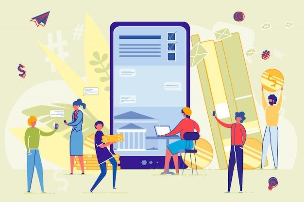 Online lernen und von bildung profitieren. Premium Vektoren