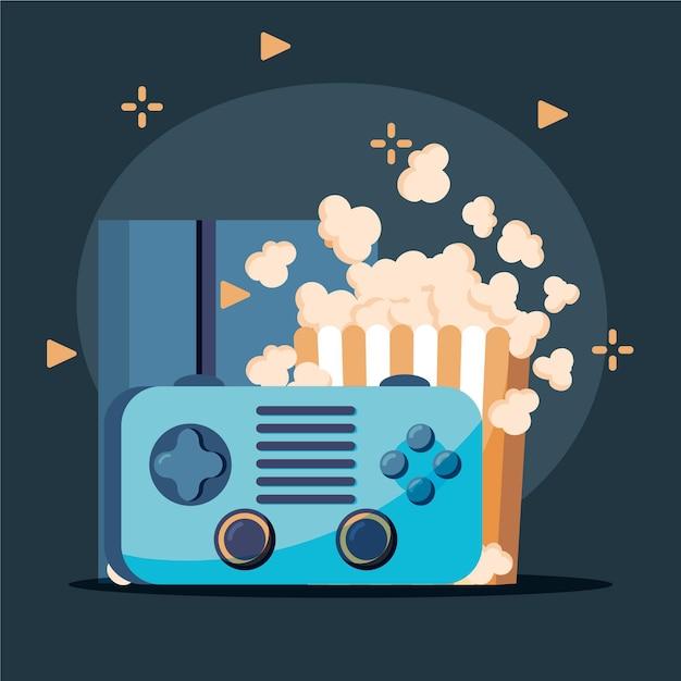Online-spiele-konzept Kostenlosen Vektoren