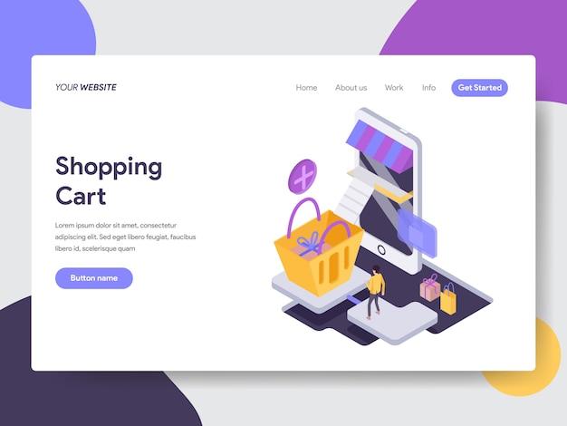 Online-tracking-illustration für webseiten Premium Vektoren