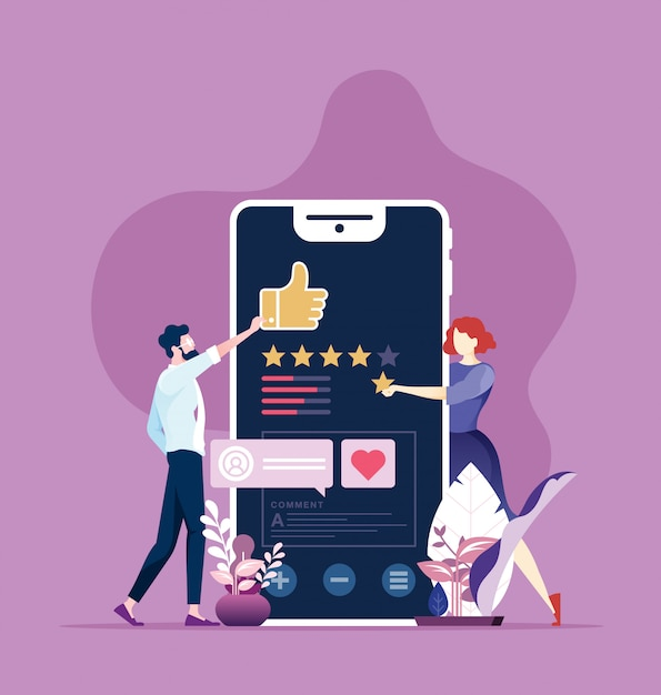 Online-überprüfung Premium Vektoren