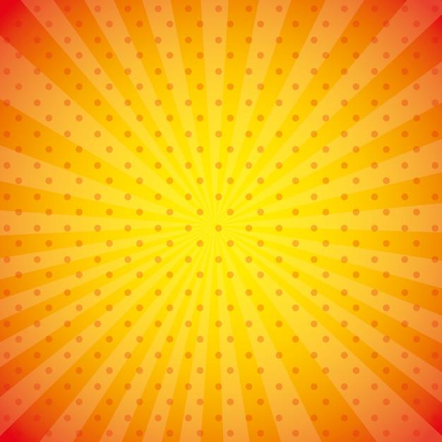 Orange tapetenabbildung Kostenlosen Vektoren