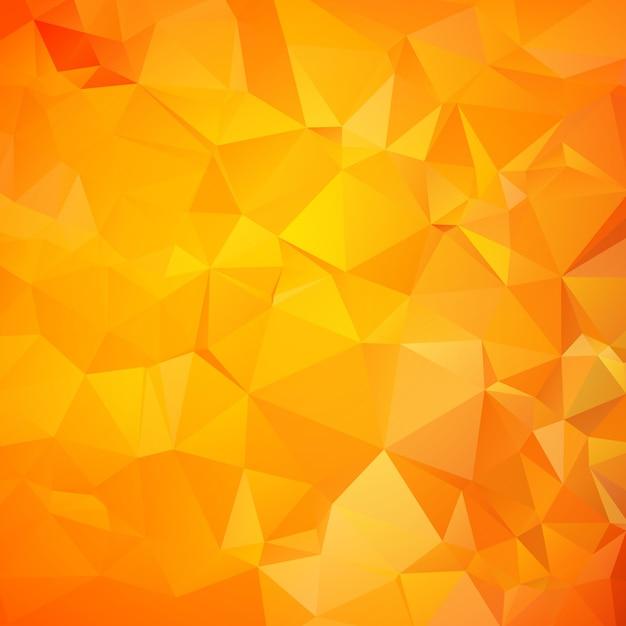 Orangefarbenes dreieck (geometrisches muster) Kostenlosen Vektoren