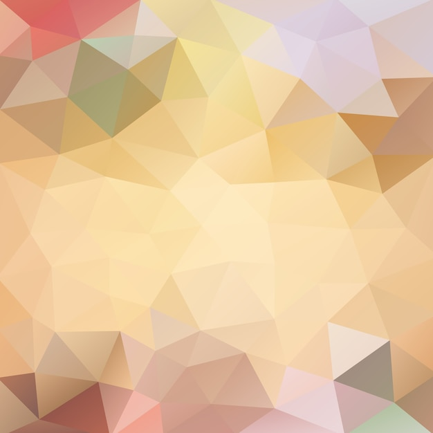 Orangenmarmelade-polygonaler hintergrund Premium Vektoren