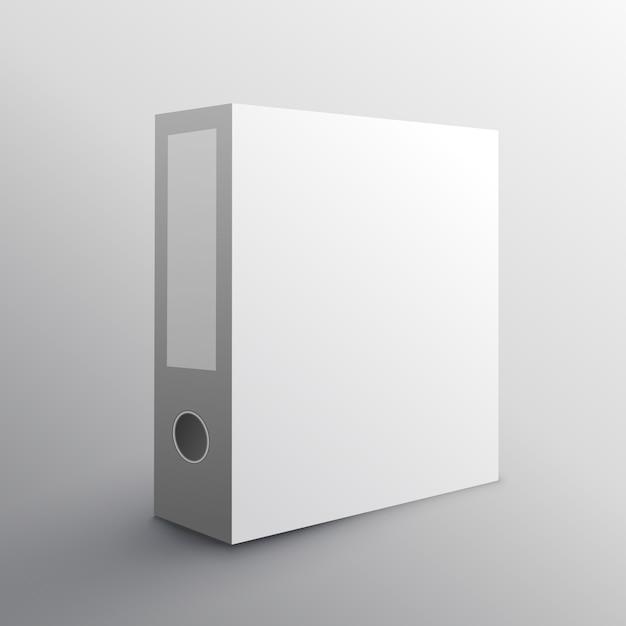 Design Aufbewahrung ordner mockup design für die aufbewahrung ihrer dokumente