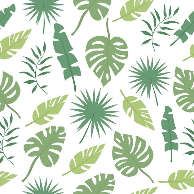 Palmblattmuster Kostenlosen Vektoren