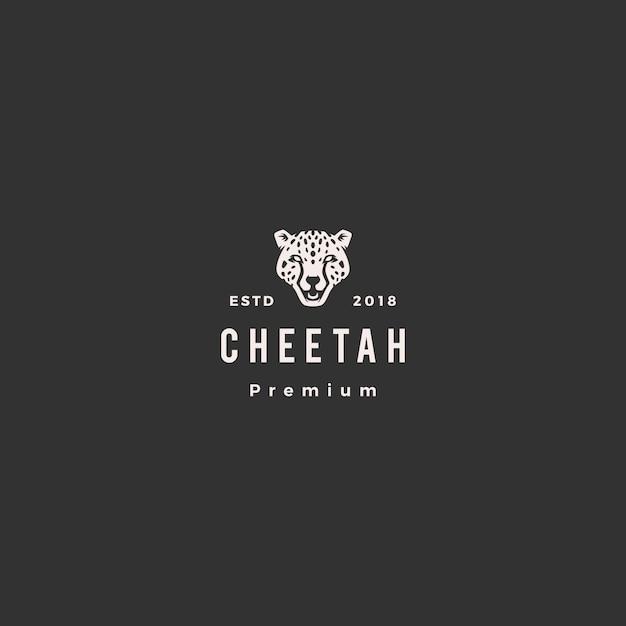 Panther gepard kopf logo vektor-illustration Premium Vektoren