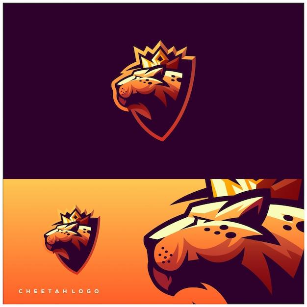 Panther-logo Premium Vektoren