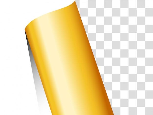 Papier goldband hintergrund. Premium Vektoren