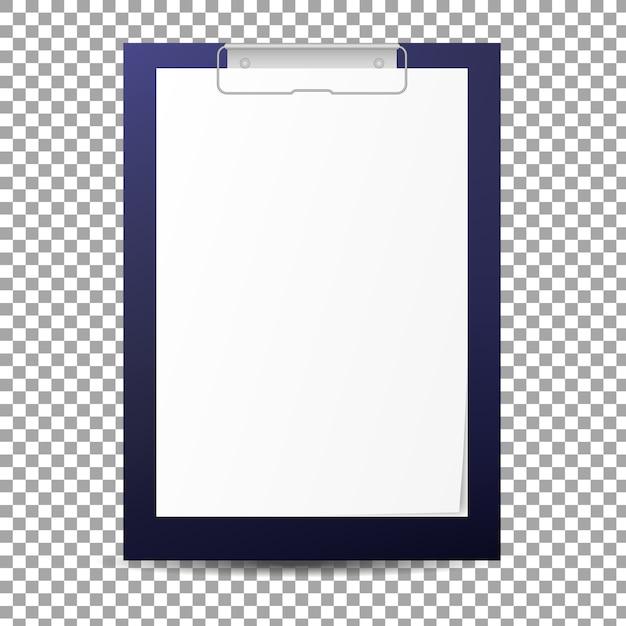 Papier-zwischenablage-tablette Premium Vektoren