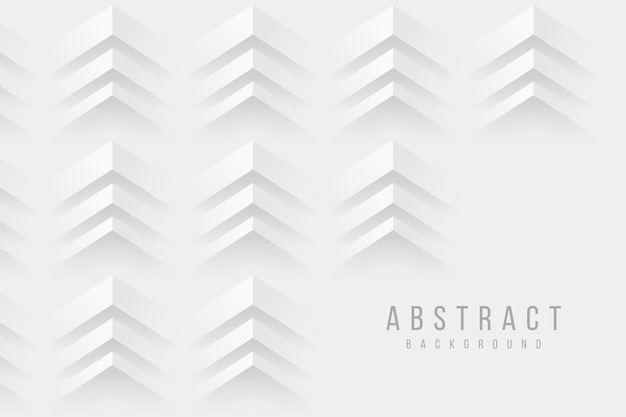 Papierart-designhintergrund der pfeile 3d Kostenlosen Vektoren