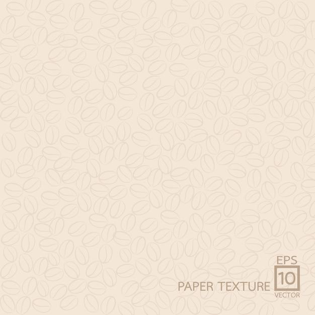 Papierbeschaffenheitshintergrund, kaffeeart Premium Vektoren