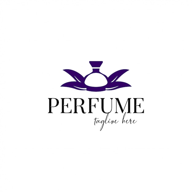 Parfume logo vorlage Premium Vektoren