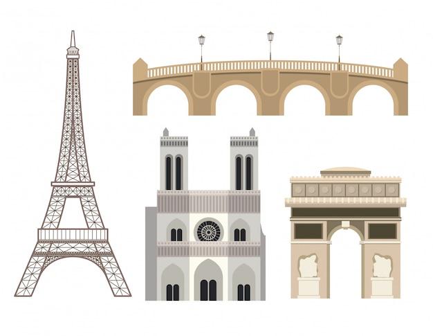 Paris design Premium Vektoren