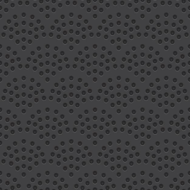 Perforierter materieller vektor-nahtloses muster Premium Vektoren