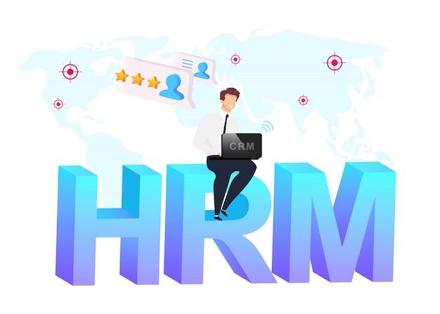 Personalmanagement Premium Vektoren