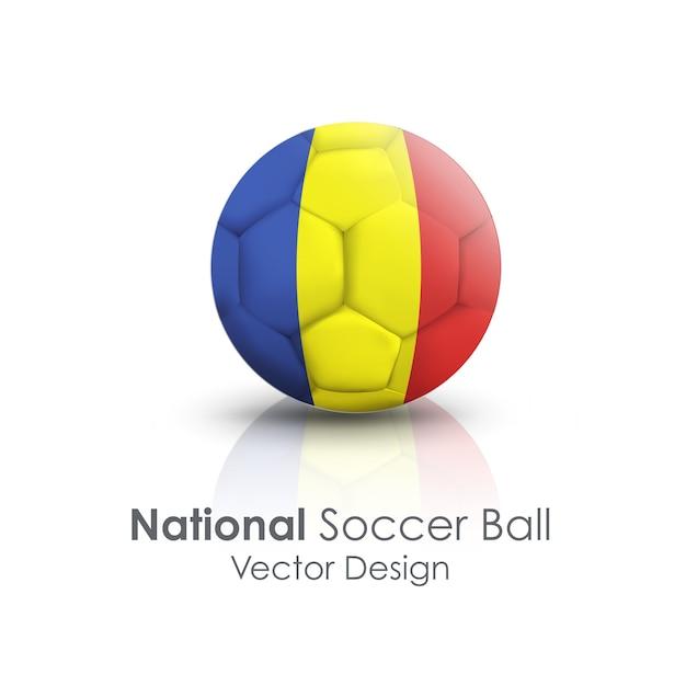Pfad ball sport helles symbol Kostenlosen Vektoren