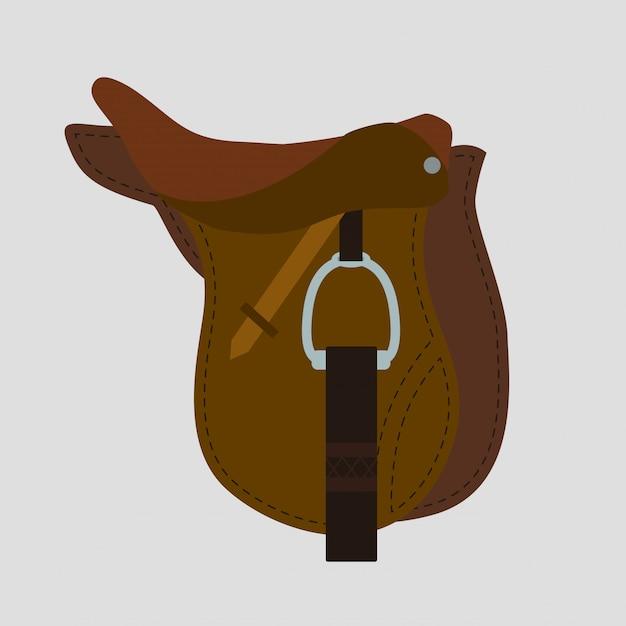 Pferd design. Premium Vektoren