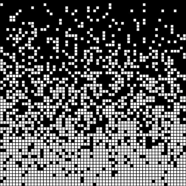 Pixel-abstrakter hintergrund Premium Vektoren