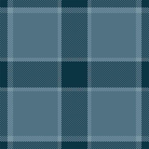 Pixel hintergrund design. modernes nahtloses musterplaid. quadratischer texturstoff. tartan schottisches textil. schönheitsfarbe madras ornament. Premium Vektoren