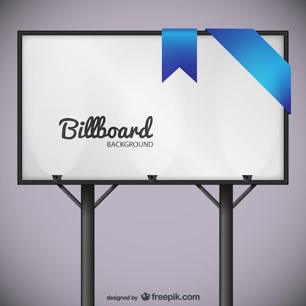 plakatwand mit blauer spitze download der kostenlosen vektor. Black Bedroom Furniture Sets. Home Design Ideas