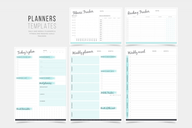 Daily Planner Template Daily Planner Insert 8