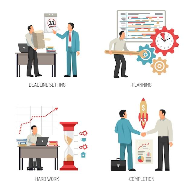 Planungskonzept design Kostenlosen Vektoren