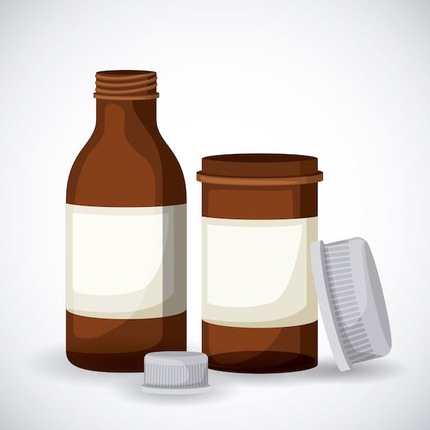 Plastikflaschen-Design | Download der Premium Vektor