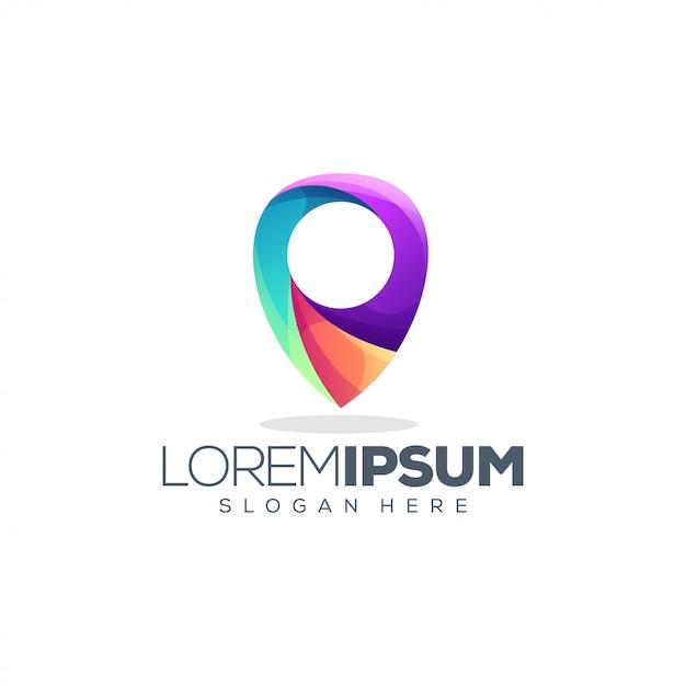 Platzieren sie das logo-design Premium Vektoren