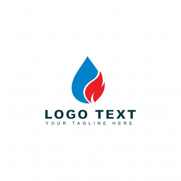 Plumbery Logo Kostenlose Vektoren