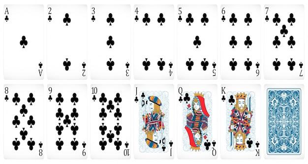 Poker karten Kostenlosen Vektoren