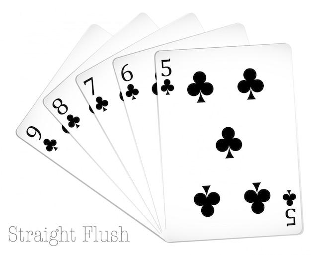 Pokerkarten Kostenlosen Vektoren