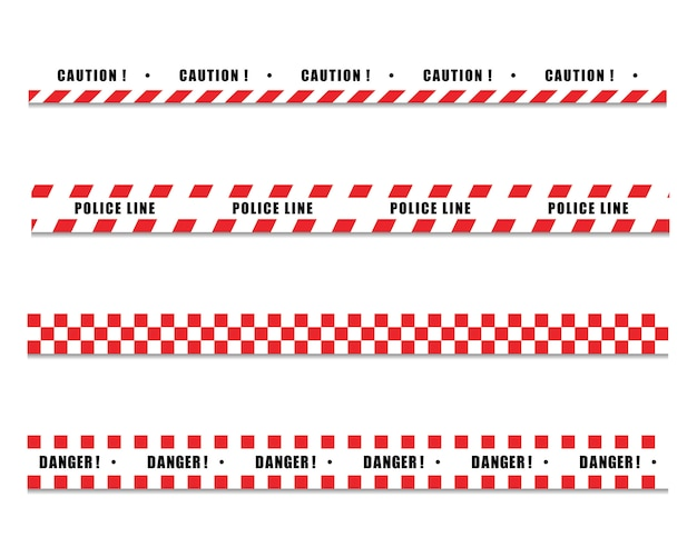 Polizeilinie ikonendesign ilustration Premium Vektoren