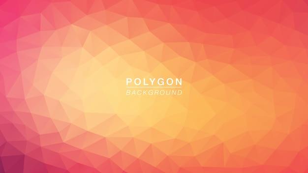 Polygon pink Premium Vektoren