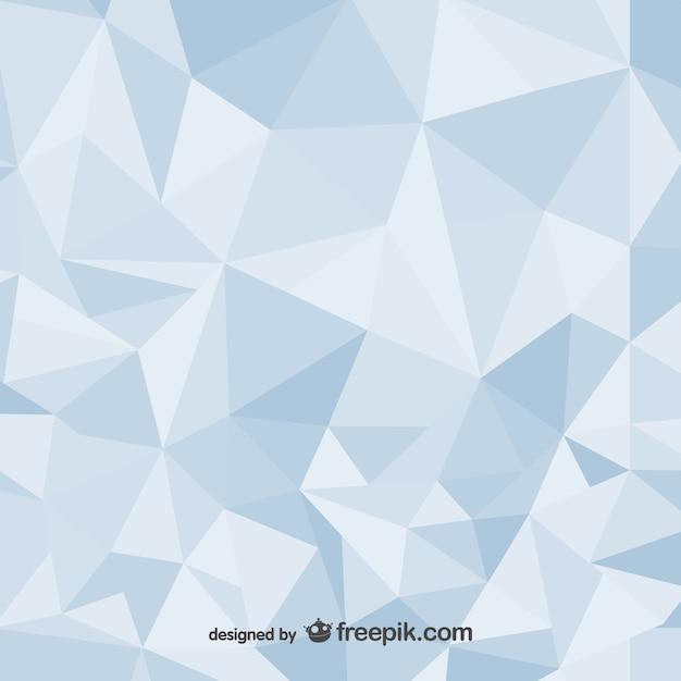 Polygonale abstrakten hintergrund design Kostenlosen Vektoren
