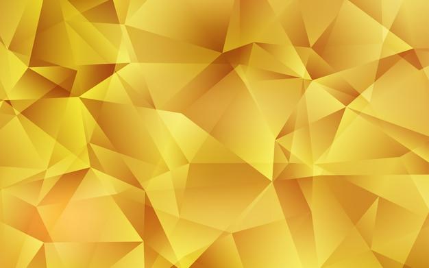Polygonale schablone des hellorangen vektor. Premium Vektoren