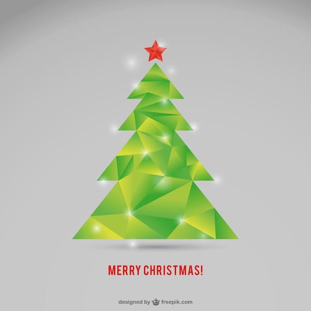 polygonale weihnachtsbaum vektor download der. Black Bedroom Furniture Sets. Home Design Ideas