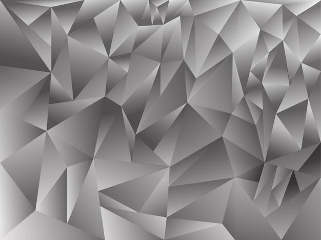 Polygonaler abstrakter hintergrund Premium Vektoren
