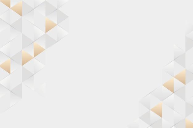 Polygonaler hintergrund der papierart 3d Kostenlosen Vektoren