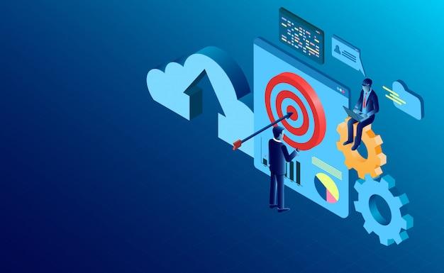 Positiver social-media-inhalt Premium Vektoren